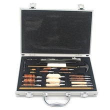 Kit de nettoyage de pistolet tactique ensemble doutils de nettoyage de fusil accessoires de chasse de brosse en Nylon
