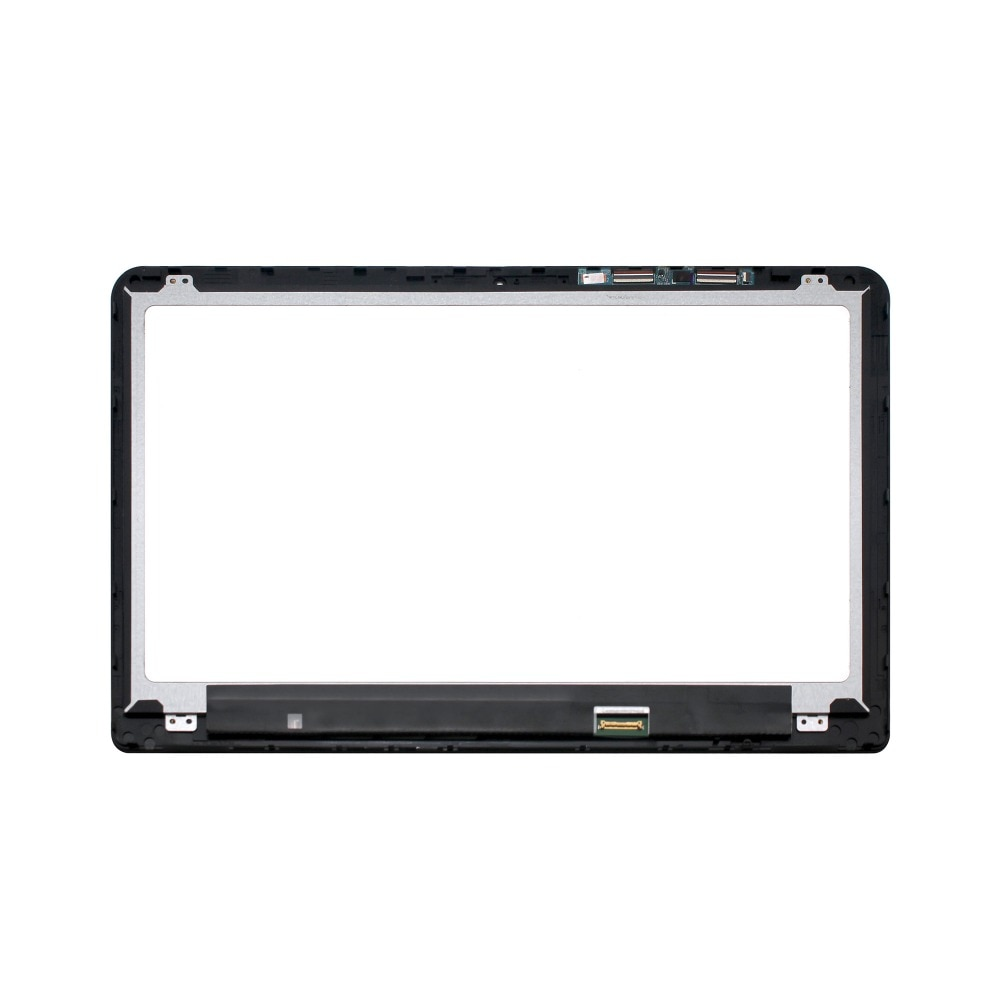 "Para Hp Pavilion X360 15-BK056sa 15-bk076 15-BK010NR 15,6 ""862644-001 IPS LCD conjunto de bisel de pantalla táctil + marco"
