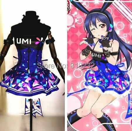 Amor ao vivo escola idol projeto ciberjogos sonoda umi ilumine acima do deslizamento vestido t uniforme roupa anime cosplay trajes