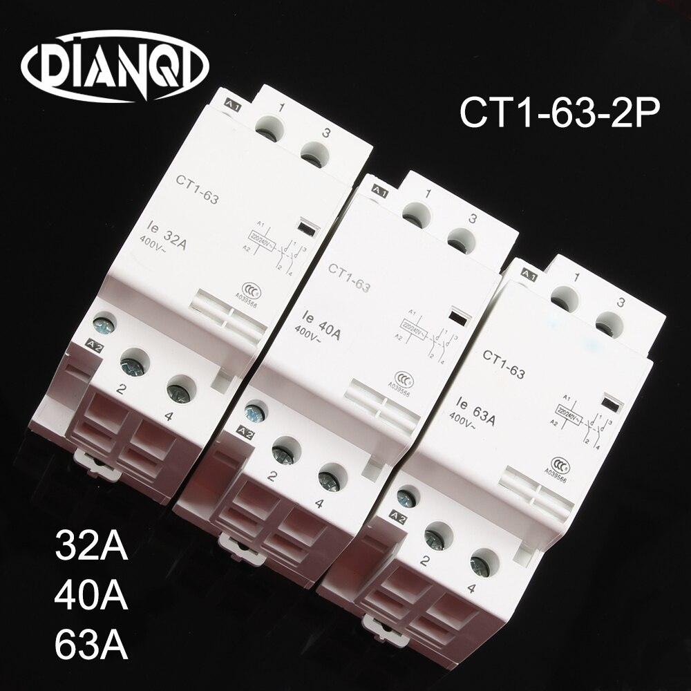 Auxiliar de partida 40A 32A, dispositivo para arranque de contactor CT1 CT1-63...