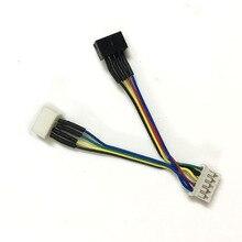 Connecteur de cartes graphiques gpu, pour cartes vidéo de refroidissement, 1 pièce de 5 broches à 4 broches x 4 broches