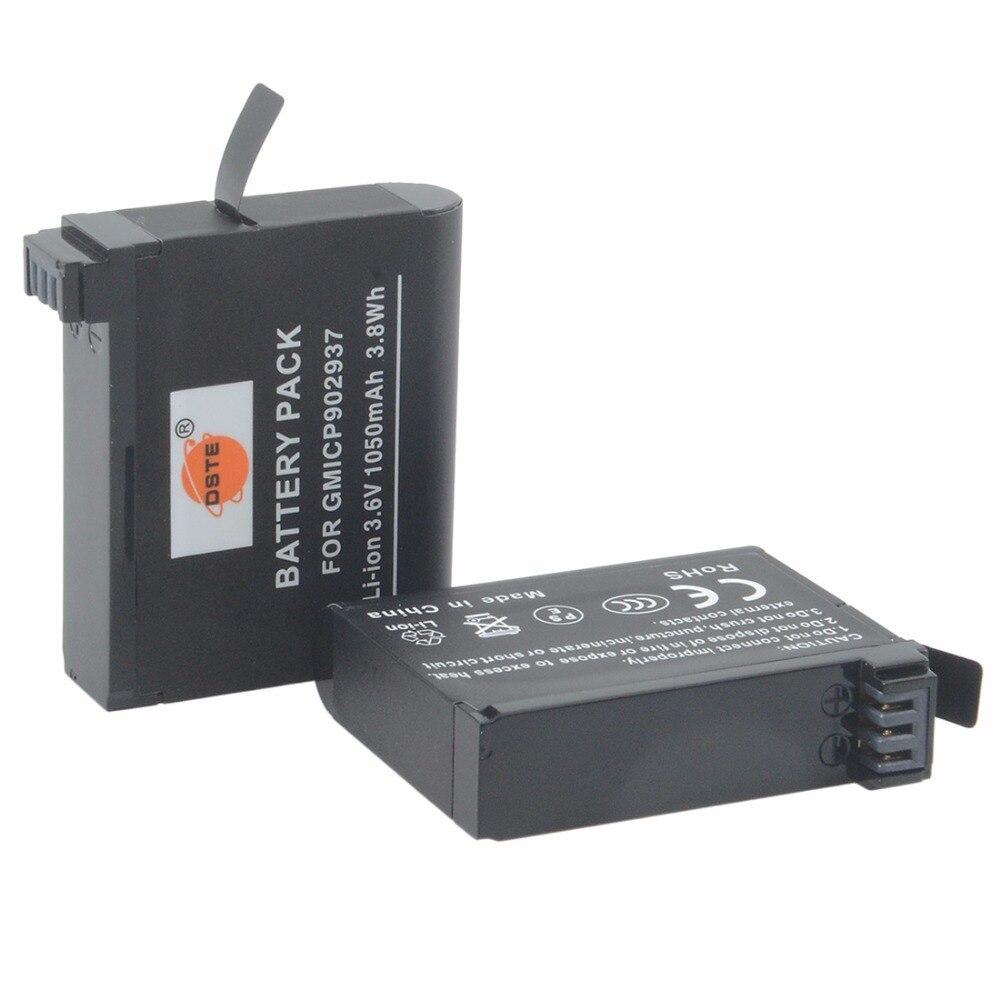 Аккумуляторная батарея DTE 2x GMICP902937 для спортивной камеры Garmin VIB ULTRA 30