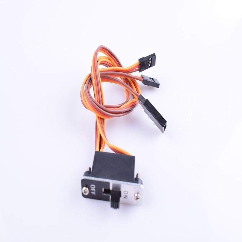 2 paquetes RC Switch Futaba Connector On-Off con enchufe macho de repuesto resistente buena calidad