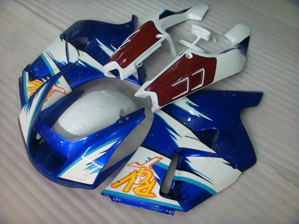 Carenado de Abs RGV250 1990 - 1995 NC22 1995 carenado azul y blanco Kits para RGV250 1990 carenado de Abs para RGV250 1991
