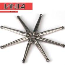 Livraison gratuite 5 pièces CNC Sonde levier cadran indicateur CMM tungstène tête M1.4 M1.6 M1.8 M2 pointe de mesure Sonde jauge broche jauge