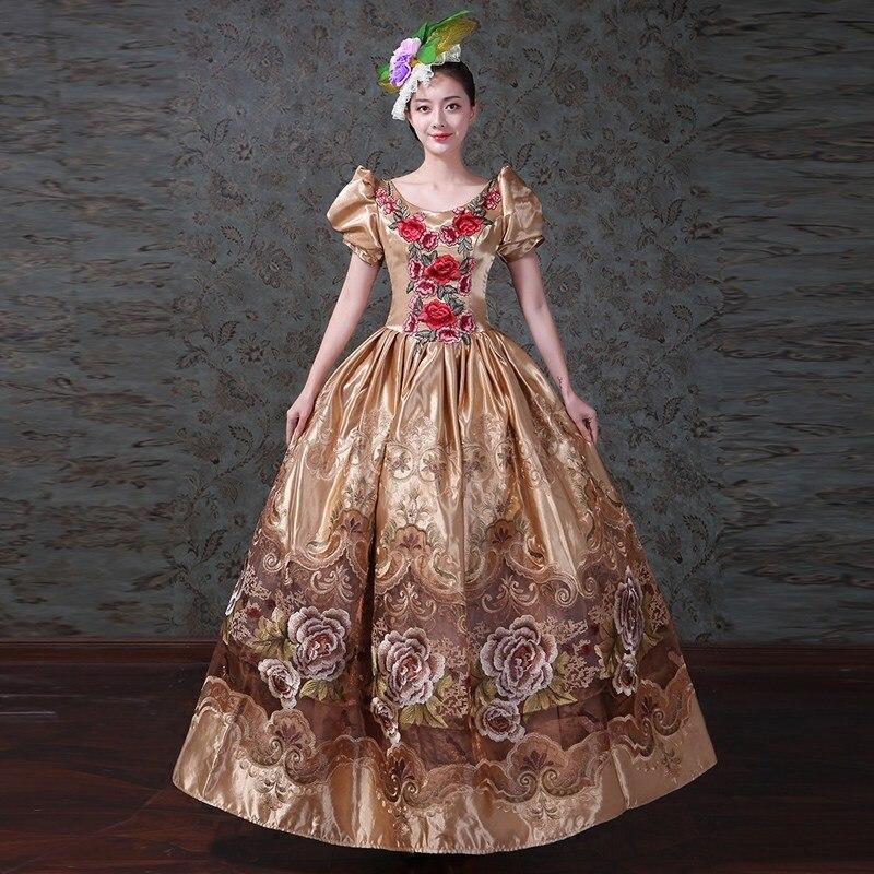 Antiguo georgiano victoriano bella sureña Vintage vestido del país de las Maravillas teatro princesa recreación ropa