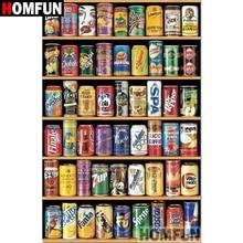 "HOMFUN 5D DIY Diamant Malerei Voll Platz/Runde Bohrer ""Regal snack"" 3D Stickerei Kreuz Stich geschenk Hause decor A05084"
