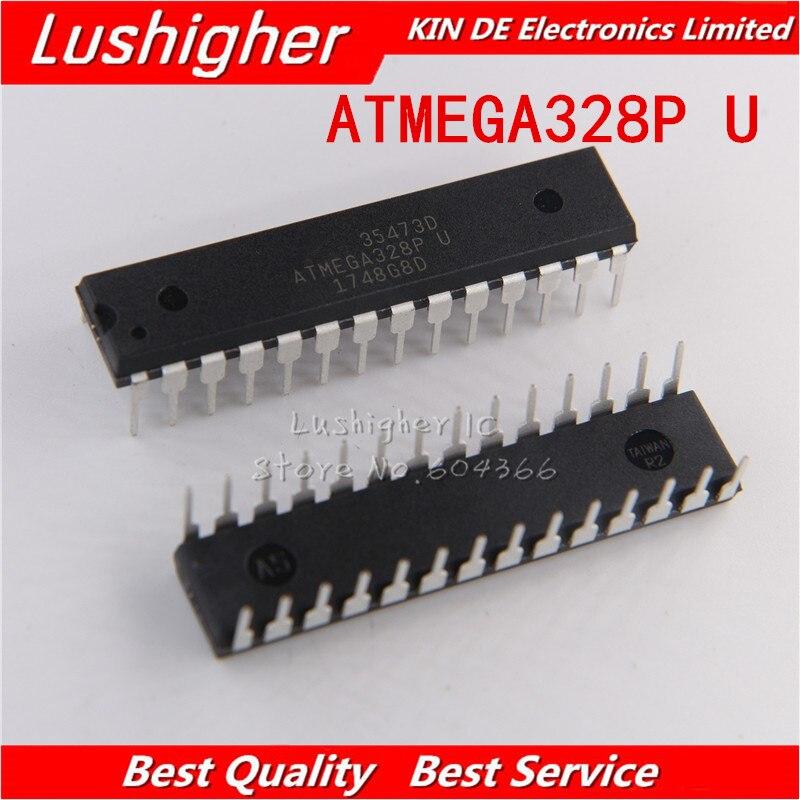 10 шт. ATMEGA328P-PU DIP ATMEGA328-PU DIP28 ATMEGA328P новый оригинальный IC