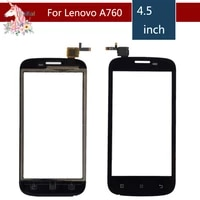 4 5 for lenovo a760 a 760 lcd touch screen digitizer sensor outer glass lens panel replacement