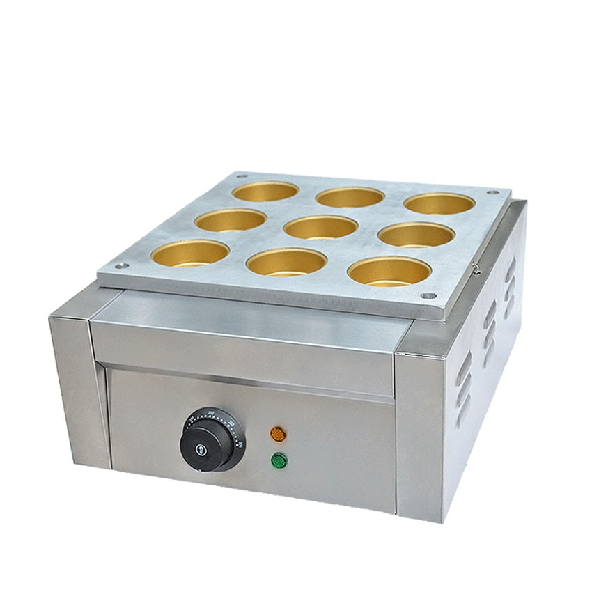 1 قطعة 9 حفرة الكهربائية نوع الفاصوليا الحمراء كعكة آلة عجلة كعكة آلة كعكة صغيرة ماشين Sanck الغذاء آلة