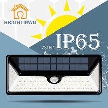 Led Solar Light 73led Ip65 500LM Emergency Street Garden Lamp Energia Powerful Lights Outdoor Lighting