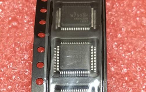 جديد 5 قطعة/الوحدة W7500P 7500P 7500 QFP-64