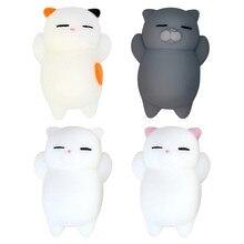 Mignon chat squishy lente augmentation douce presse presser Mini squishi jouet téléphone sangles anti-Stress Kawaii squishies jouets