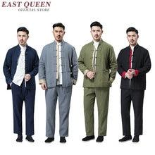 Traditional chinese clothing for men wushu staff shanghai tang     KK2368