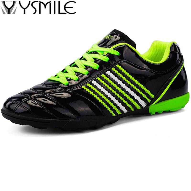 Stollen Rasen Weiche Sohle Leder Kinder Turnschuhe Jungen Fußball Schuhe Kinder Fußball Schuhe Junge Trainer Schuhe Sport Fuß Schuhe