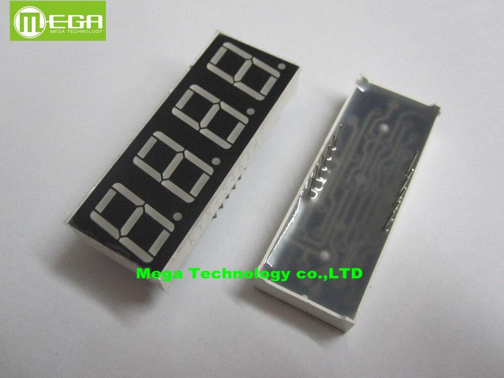 """10 Uds LD-5461AS 4 dígitos 0,56 """"rojo pantalla LED de 7 segmentos cátodo común"""