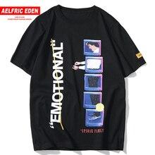 Aelfric Eden Hip Hop 3D motif imprimé T-shirts hommes 2019 été Harajuku mode décontracté à manches courtes hommes T-shirts hauts Streetwear