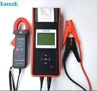 Lancol מכירה לוהטת אוטומטי משאית מנוע Diagnosti כלי דיגיטלי רכב סוללה בודק מנתח ערכת MICRO768A עם מדפסת ומגבר מהדק