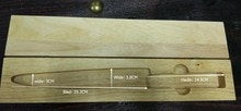Delicate OAK Wooden Box for Sakimaru/Takohiki/Kiritsuke/Yanagiba Knife 45