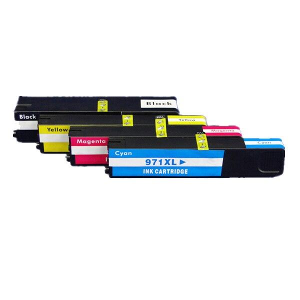 Cartucho de tinta Compatible con cartucho HP 970 para Cartucho de tinta HP 970 971XL para HP Officejet ProX576dw MFP X476dwMFP X476dwMFP x551dw