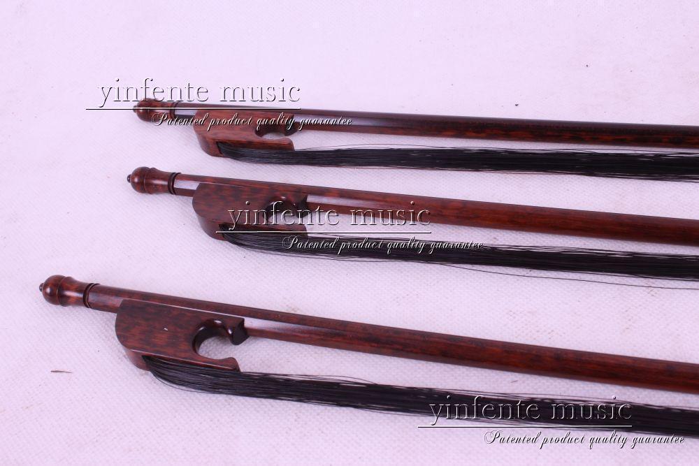 Новый 4/4 скрипки Лук SnakeWood черный Mawei струны получить качество