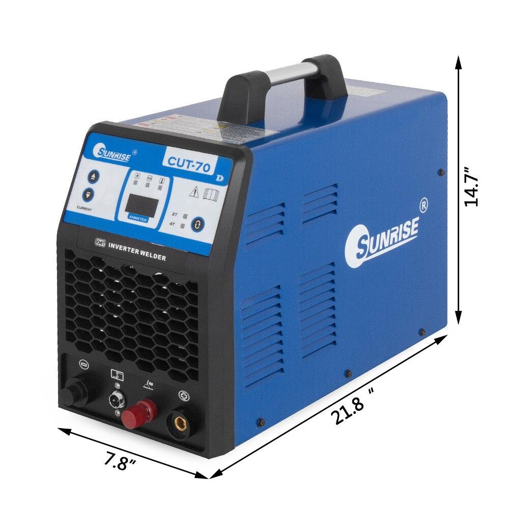 PLASMA-70 cortador de Plasma 70A HF inversor cualquier material metálico de hasta 25mm