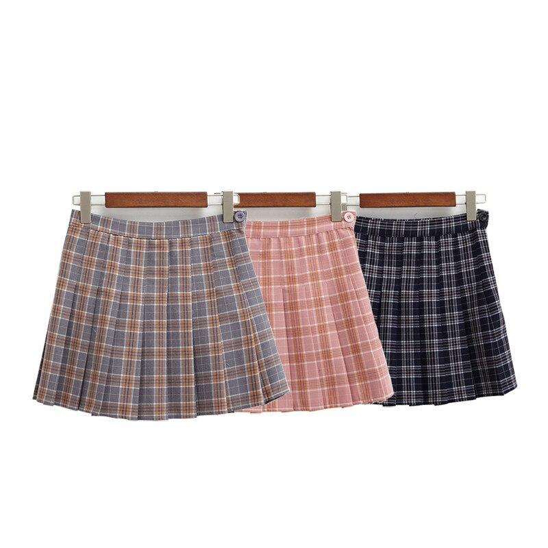 Женская короткая теннисная одежда с высокой талией плиссированная Спортивная