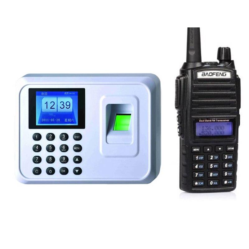 by fedex 20pcs A5 Biometric Attendance System USB Fingerprint Reader+baofeng UV82 radio NEW