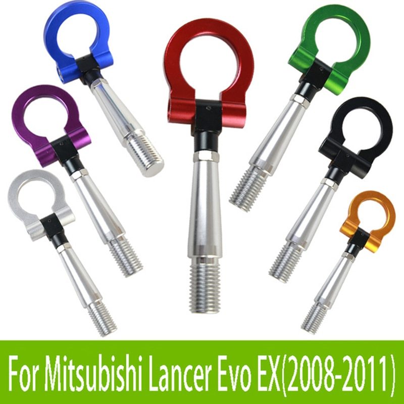 Gancho de remolque mrhello racing para Mitsubishi Lancer Evo EX (2008-2011)