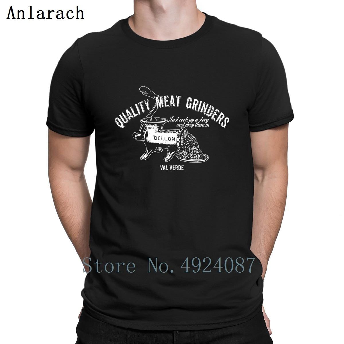 Camiseta Predator Dillon con estampado de carne para hombre, Camiseta de algodón interesante para hombre, camiseta creativa ajustada de verano auténtica