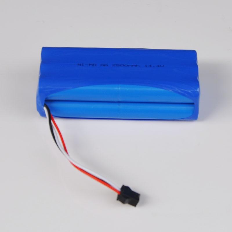 US 14,4 V Ni-MH AA, paquete de pilas recargables, 2500MAH, para Ecovacs Mirror CEN360, Seebest D730 D720, Robot aspirador