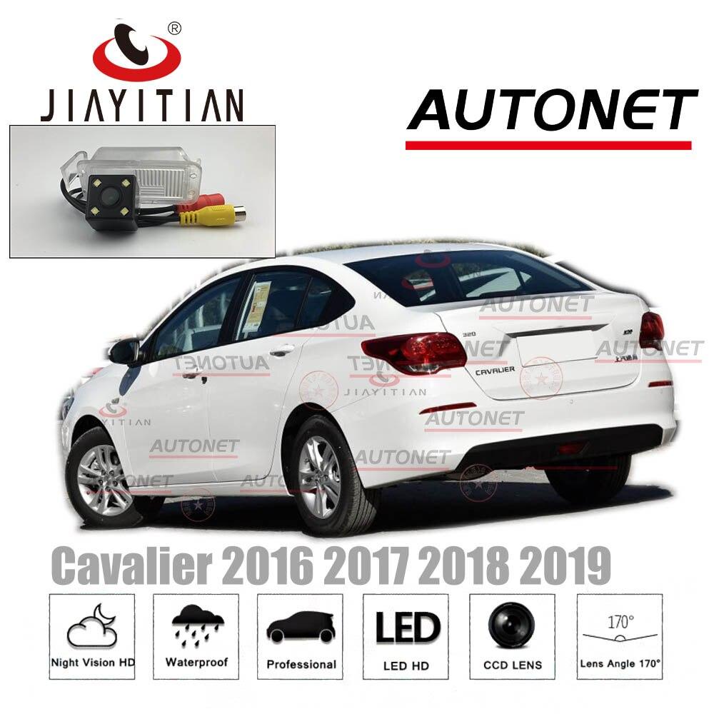JIAYITIAN vista trasera de coche cámara para Chevrolet Cavalier 2017, 2018, 2019, 2020 HD CCD visión nocturna aparcamiento de copia Cámara inversa