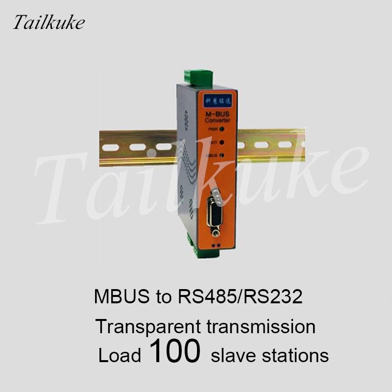MBUS/M-BUS para RS232/485 Converter (100 de Carga) KH-CM-M100