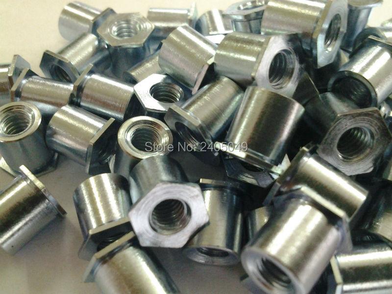 SO4-M5-25 الظهور حفرة الخيوط مواجهات ، الفولاذ المقاوم للصدأ 416 ، فراغ المعالجة الحرارية ، بيم القياسية ، في الأسهم ، صنع في الصين ،