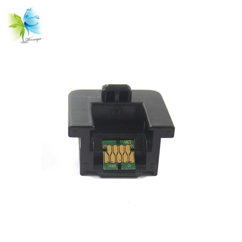 Winnerjet Chip de alta estabilidad de uso único con soporte para Epson F7100 F7170 F6070 F7070 F6000 F7000 impresoras de inyección de tinta