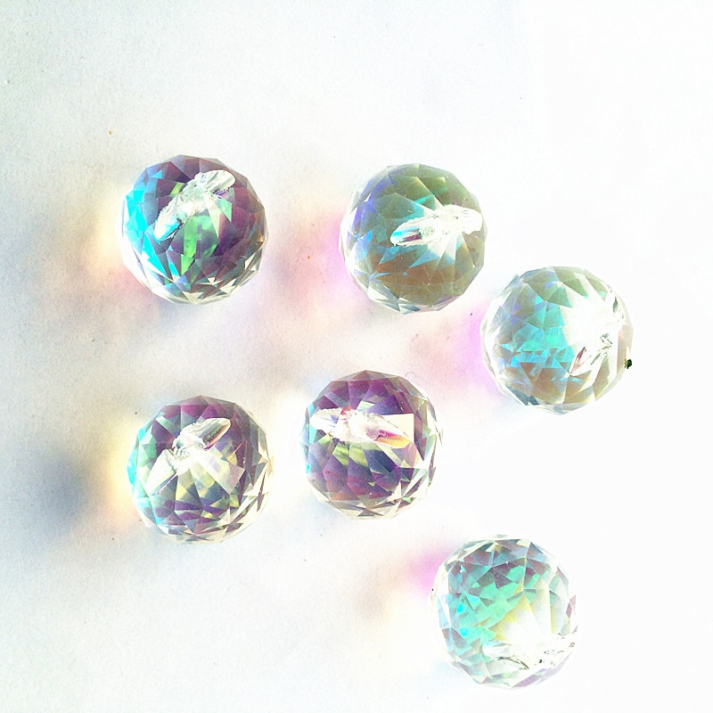 مصباح كريستال للثريا ، 50 قطعة ، 20 مللي متر ، شفاف ، شكل ABCrystal ، قطرات معلقة ، زينة مصباح الزفاف ، بالجملة