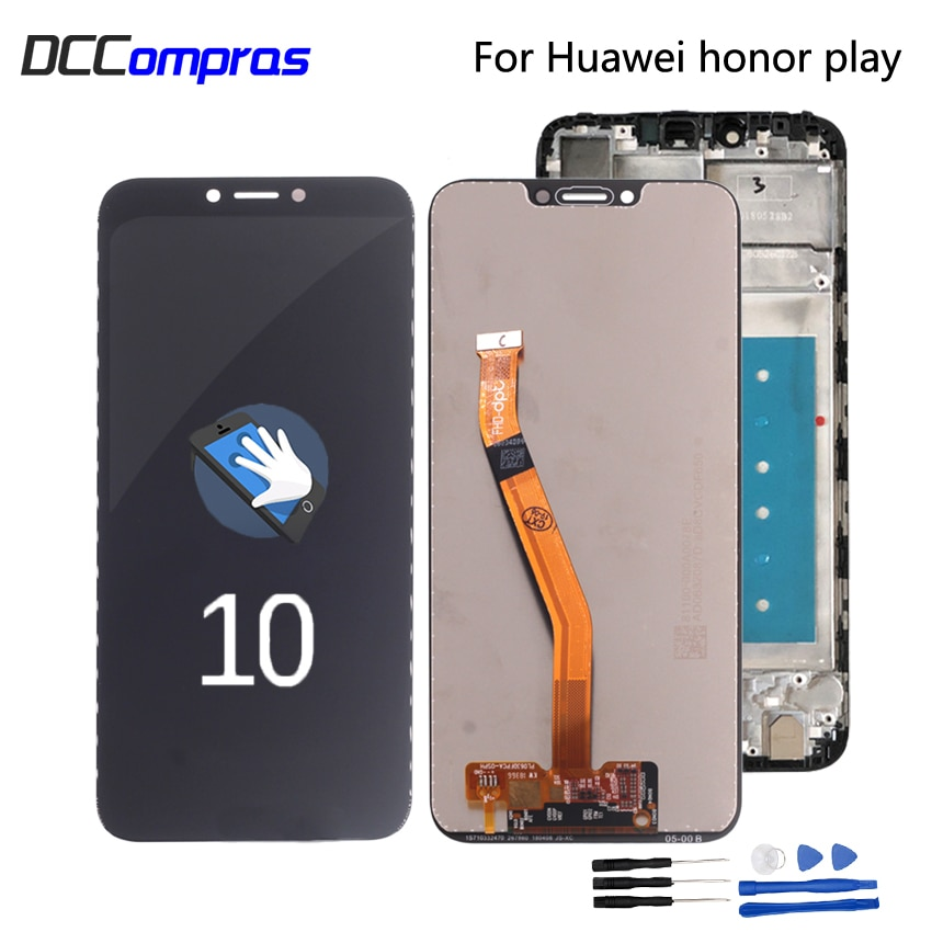 Original For Huawei Honor Play COR-L29 LCD Display Digitizer Touch Screen Assembly For Honor play COR-AL00 COR-AL10 LCD Display cor sine labe doli галстук