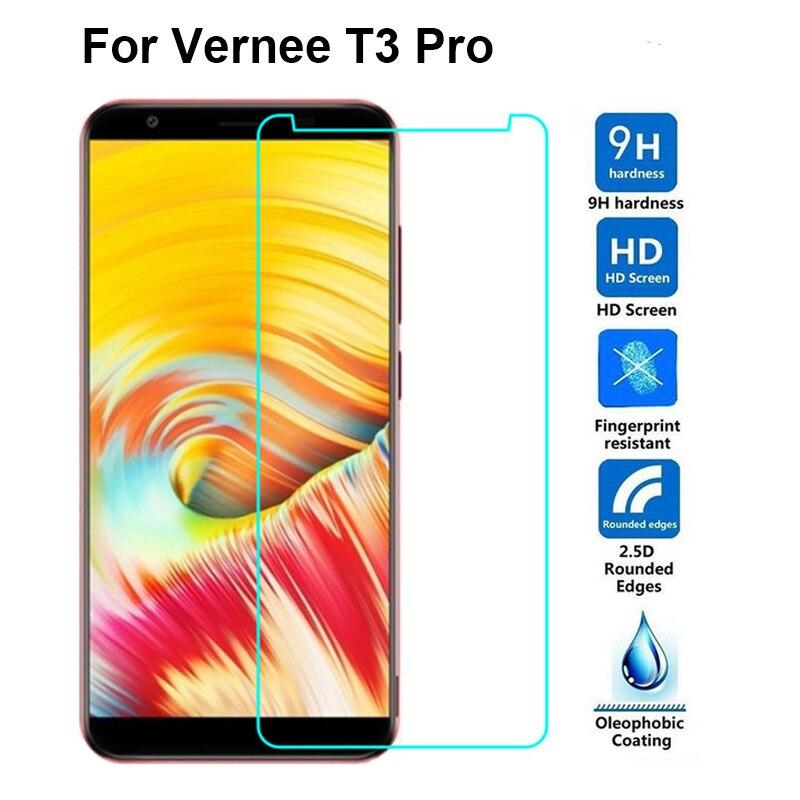 """VERNEE T3 PRO vidrio templado no cubre completamente carcasa de pantalla protector 5,5 """"película de vidrio protector del Teléfono para VERNEE T3 PRO"""