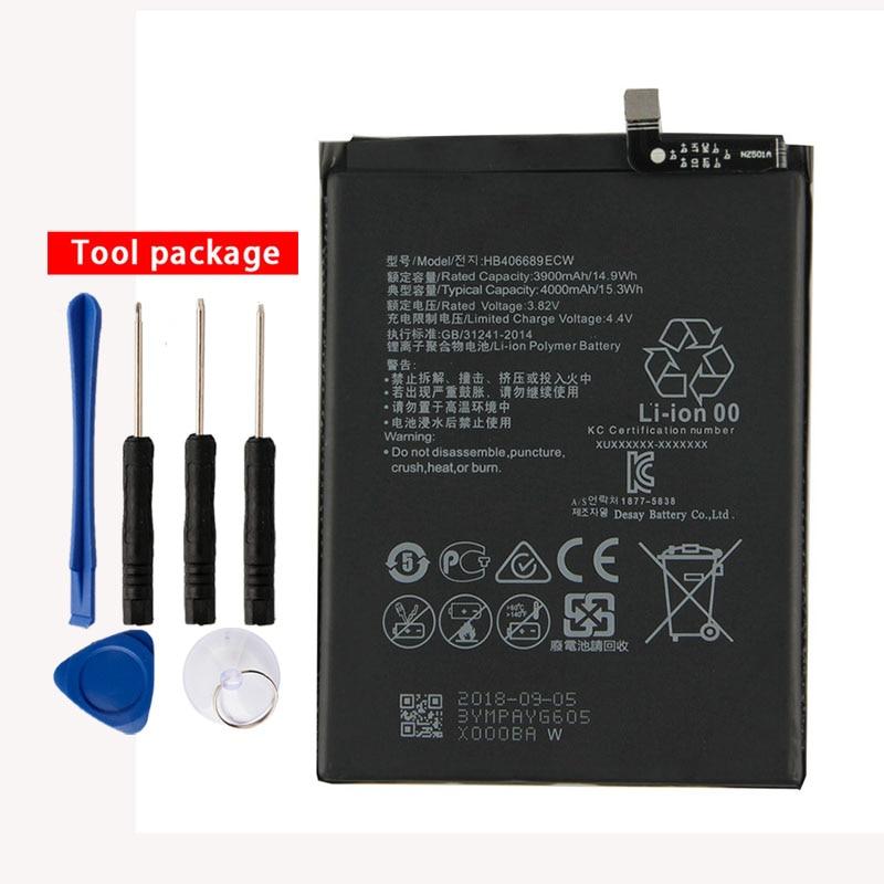 Original High Capacity HB406689ECW phone battery For Huawei Y7 TRT-LX1 /LX2/LX23 TRT-L53 TRT-L21A TRT-AL00 TL10A Enjoy 7 plus