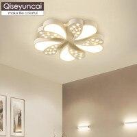 Qiseyuncai Modern restaurant simple creative led ceiling lamp romantic warm atmosphere living room study master bedroom lighting
