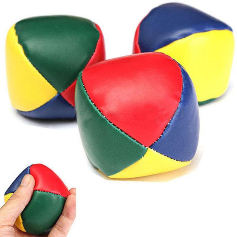 1Pcs 5cm Jonglieren Balls Spielzeug Klassische Sitzsack Jonglieren Circus Anfänger Bälle Kinder Outdoor Sport Ball Spielzeug Kinder interaktive Spielzeug