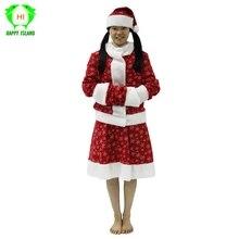 Nouveau Style femmes père noël Costume de noël adulte noël rouge Cosplay robe de noël Costume pour dame filles