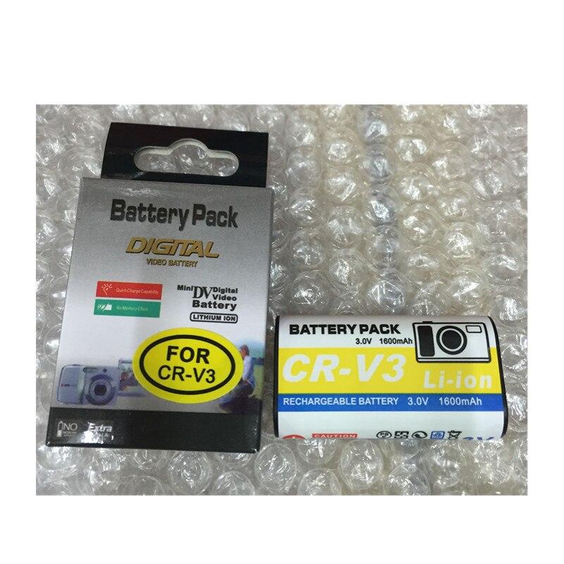 CR-V3 batteries au lithium CRV3 batterie pour appareil photo Numérique Olympus C-720 C-740 C-740UZ C-750 C-750UZ C-730 C-4040 C-4040Z C-3020