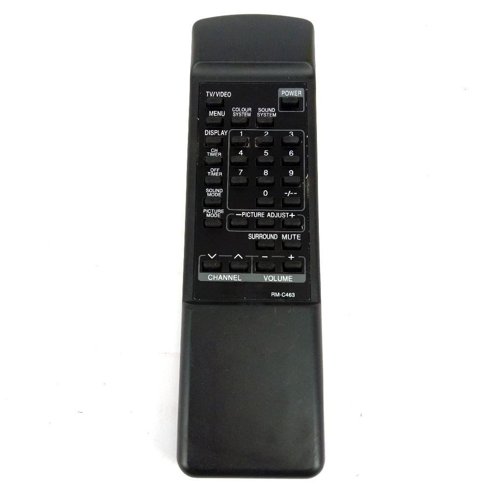 Used Replacement for JVC TV Remote control RM-C463 Fernbedienung new rm sdrmv150a replacement for jvc dvd rm sdrmv150a rm sdrmv100a drmv80b drmv150 drmv100b drmv7 drmv77s dvd remote control