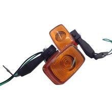 Yecnecty 2X moto clignotant avant arrière moto indicateur lampe pour Yamaha TTR250 KLX250 XR250 XT225 cerf 225