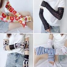 Manchettes manches froides   Nouveau design, 20 couleurs, protection solaire, protège-bras été