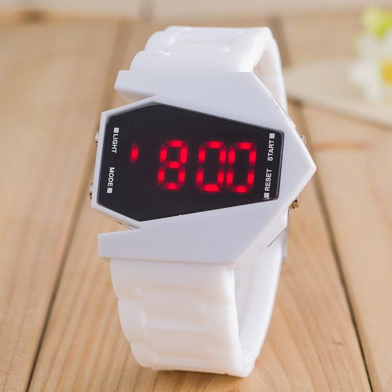 Luxury Digital Alarm Stopwatch Back Light LED Watch Women Men Children Sports Wrist Watch Clock relo