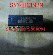 10PCS   Free shipping  74HC193 SN74HC193 HD74HC193P 74HC193P  SN74HC193N 74HC193N DIP-16  NEW