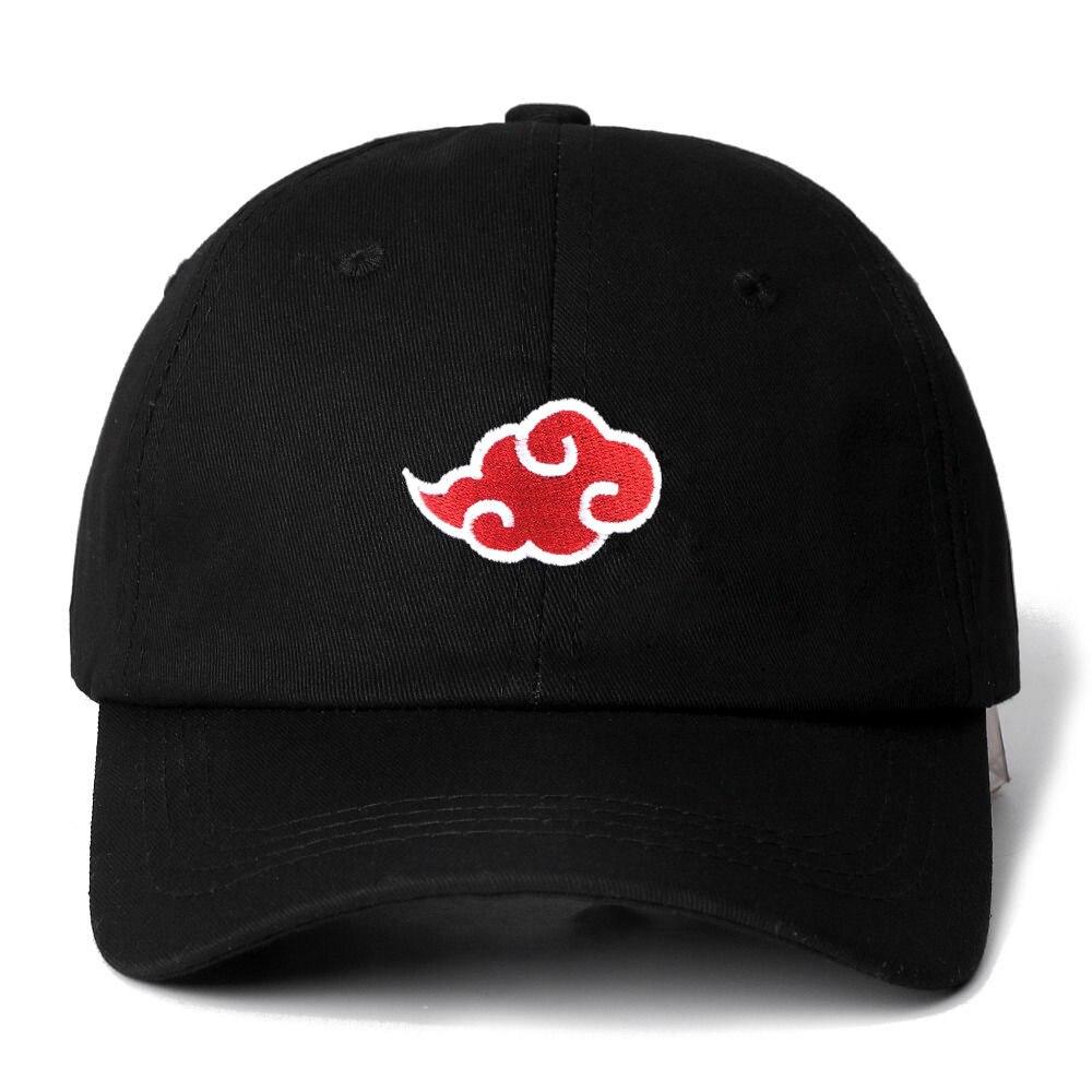 Японский логотип akatsuki, аниме «Наруто», «папа», «СемьЯ», «Учиха», вышивка логотипа, бейсболки, черные шляпы, Прямая поставка
