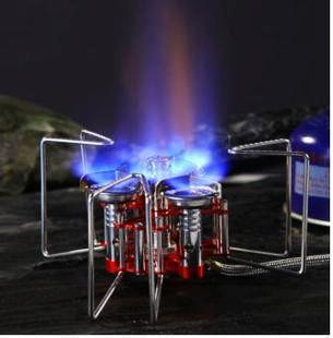Газовая плита Axeman, сверхлегкая Складная мини-газовая печь для кемпинга, отдыха на природе, 5800 Вт